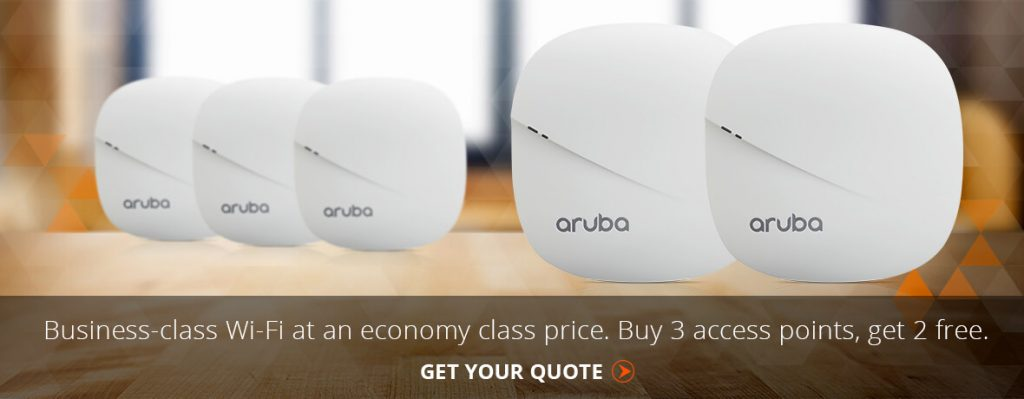 Aruba-Wifi-Promo-Website