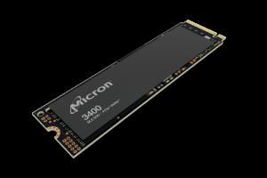 Micron 3400 series PCIe NVMe™ Client SSDs